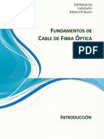 Fundamentos de Cable de Fibra Optica