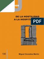 es196- Hospitalidad-hotilidad