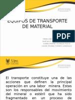 Equipos de Transporte de Material