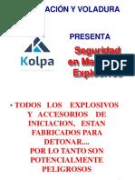 Seguridad Explosivos