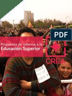 Reforma a La Educación Superior - Fundación Crea