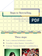 Steps to Storytelling Spanish