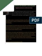 Biografía de José Bernardo Alcedo