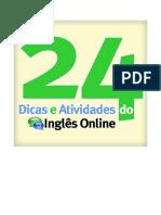 24DicasAtividadesInglesonline