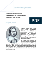 Teorema Torricelli