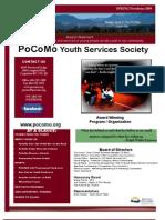 PoCoMo SPRING 09 Newsletter