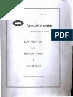 Los Puertos de Buenos Aires y Dock Sud (Ferrocarril Argentino) Aportado por Miguel Lara