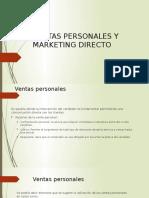 Ventas Personales y Marketing Directo