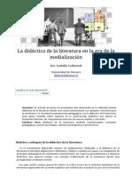 Isabella Leibrandt - La Didáctica de La Literatura en La Era de La Medialización - Nº 36 Espéculo (UCM)