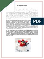 Elaboración Del Yogurt