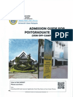 Admission Guide PG A161
