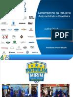 Desempenho Da Indústria Automobilistica Brasileira Junho 2016