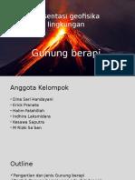 2. Erupsi Gunung API