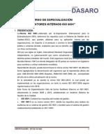 Proyecto ISO 9001