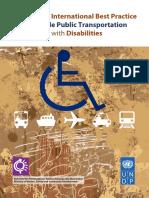 Int Best Practice Transport Disabilities 2010