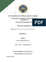 Universidad Central Del Ecuador Informe 5