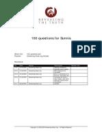 100 Questions - AnsweringAnsar.pdf