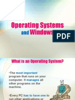 OperatingSystem and Windows
