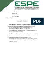 Matriz de Análisis Del Artículo 83 de La Constitución