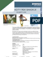 2 25T ROV Shackle
