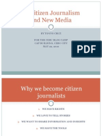 Citizen Journalism and new media in the Philippines