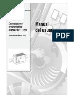 Super Manual MicroLogix 1000 Manual en ESPAÑOL