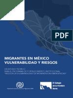 Migrantes en Mexico 2016