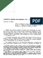 Luiz Mott Pardos e Pretos