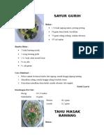 makanan daerah (Riau)