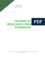 S274Prueba Paternidad Informe Resultados