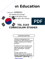 Korean Education system