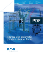 Eaton Manual Automatic Pipeline Strainer Brochure en LowRes