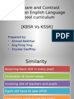 02 Tutorial Compare and Contrast Malaysian English Language School Curriculum