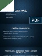 Proyecto Ars Nova