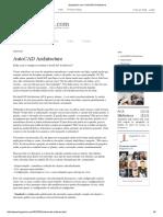 AutoCAD Architecture Vantagens
