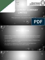 Cherat Cement Company Limited