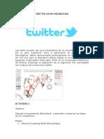 Twitter en Mi Asignatura