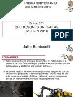 IMM 2043 Mineria Subterranea UC 1-2016 Clase 27