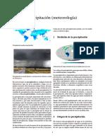 Precipitación (meteorología)
