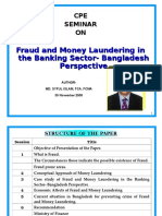 CPE paper_Md. Syful Islam_Fraud & Money Laundering in Banking Sector-BD Perspective_30Nov08.ppt