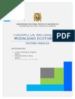 Reserva de Paracas - Monografia