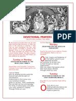 Devotional Prayers