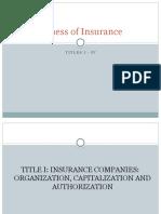 Insurance Report Presentation