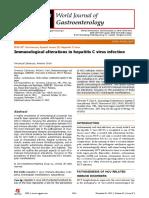 Alteraciones Inmunologicas en VHC WJG 2013