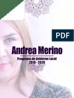 Programa de Gobierno Local 2016-2020 (2)