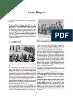 WW2 ALLIES - Jewish Brigade