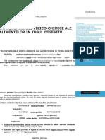 Transformari Ale Alimentelor, Absorbtia Intestinala