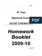 Homework Booklet [4,s]