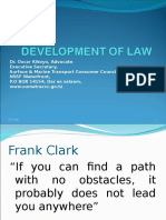 DEVELOPMENT OF LAW IN TZ.ppt
