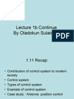 C1 - Introduction to Control System